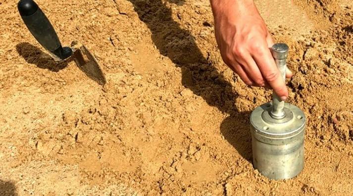 Насыпная плотность песка