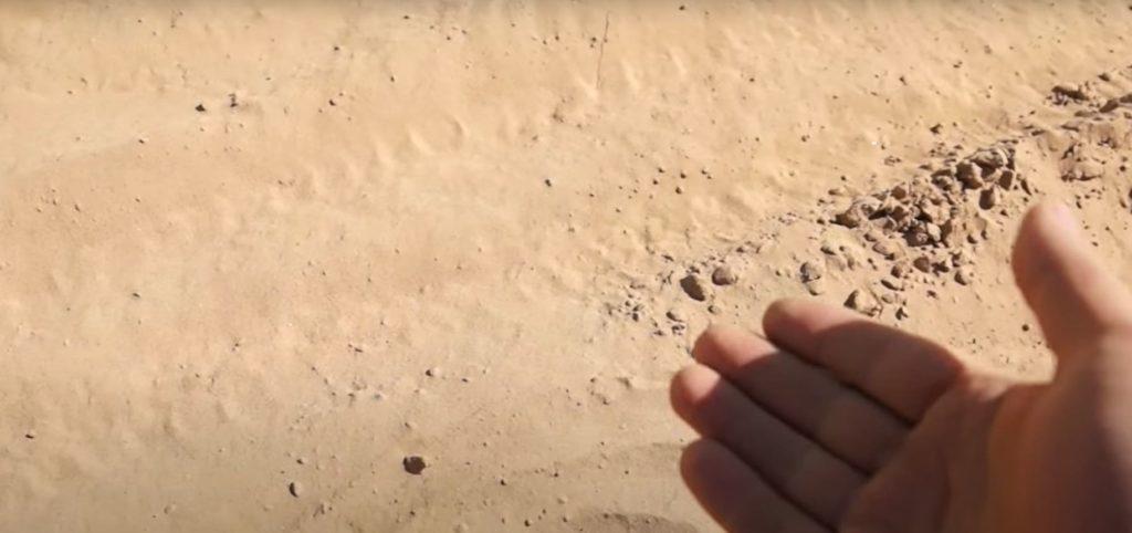Песок как мука